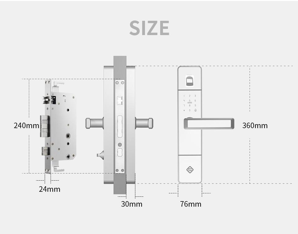 """76mm plat 3/"""" deadbolt lock ensemble porte Laiton poli salle de bain thumb turn libération"""