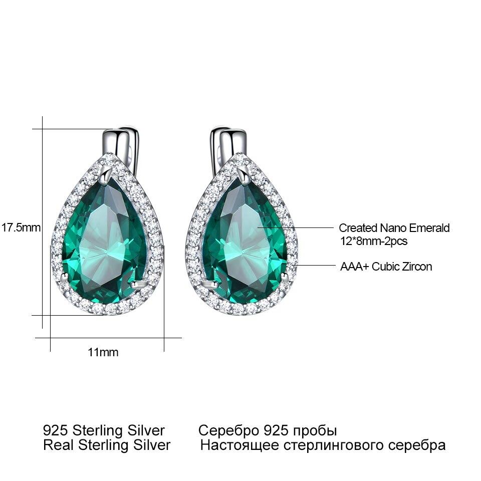 bbc9482772e7 Tamaño 5-10 espumosos Deluxe joyería de plata de ley 925 de corte redondo CZ