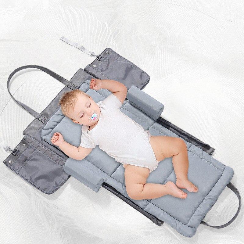 Nous fleurons Portable bébé berceau pépinière voyage pliant bébé lit sac infantile bambin berceau multifonction sac de rangement pour les soins de bébé