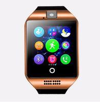 2019 Bluetooth Smart Watch Q18 Card For Android Phone PK DZ09 A1 GT08 U8 smart watch men men fashion