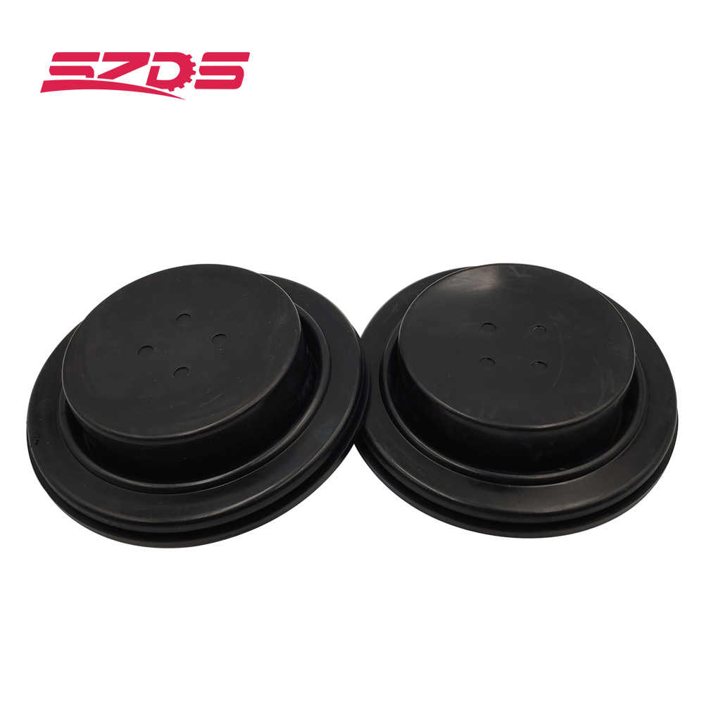 SZDS 2Pcs HID Headlight Cover Car LED Light Cap Rubber Dust Cover Dustproof Universal For 80mm Headlamp waterproof long