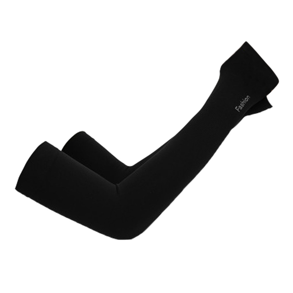 2Pcs/Set Cycling Arm Sleeves Sun UV Protection Bike Bicycle Armwarmers For Outdoor Games Sports Cycling Hiking 4.0#