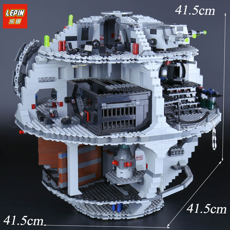 LEPIN 05035 Star Death model Star 3803pcs Wars Building Block Bricks Educational Toys Gifts Kits Compatible with 10188