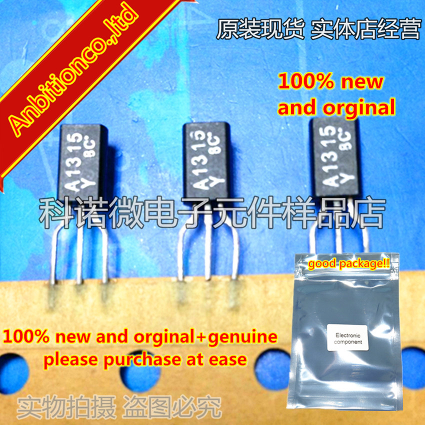 10pcs 100% New And Orginal 2SA1315 A1315 TO-92 TRANSISTOR (POWER AMPLIFIER, SWITCHING APPLICATIONS) In Stock