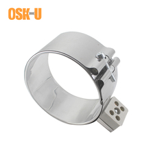 100mm Inner Diameter Ceramic Band Heater 90/95/100/110mm Height Stainless Steel Electric Heating Element for Plastic Machinery
