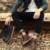 YJP Deserto Botas de Couro de Vaca, preto/Brown Chukka Botas, plana Calcanhar Dedo Do Pé Redondo Sapatos Casuais, Ankle Boots dos homens