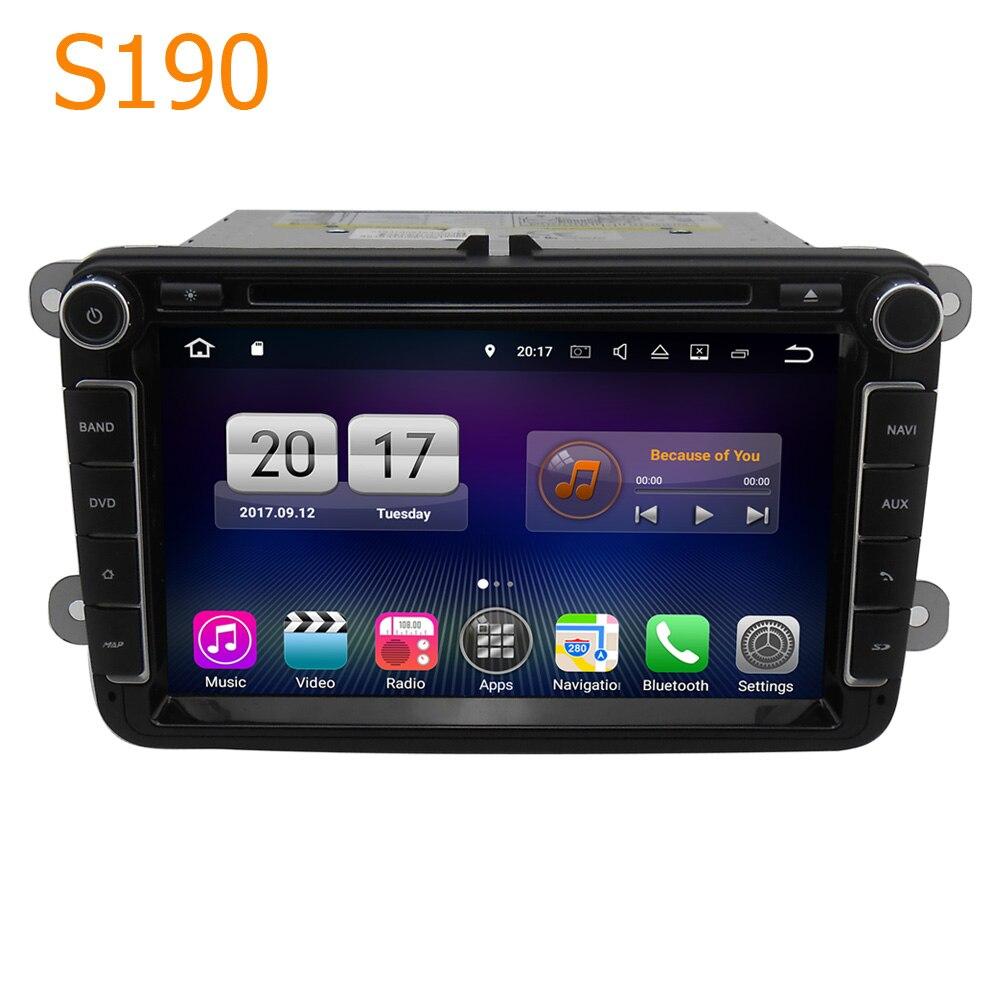 Дорога Топ winca S190 8 Android 7.1 Системы 4 core Процессор автомобильный DVD GPS головное устройство для VW Tiguan caddy Jetta Passat CC TOURAN для Мужские поло