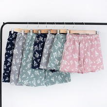 Summer 2019 New Cotton Couple Home Shorts Pajama Pants Lounge Wear Slee