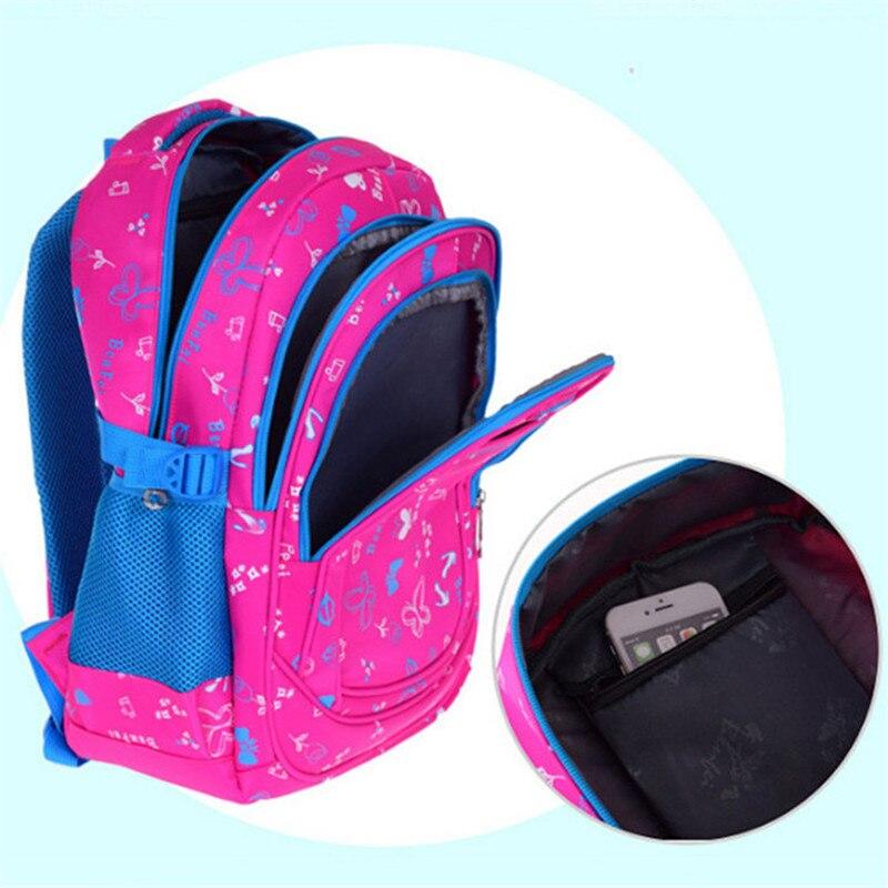 Новый Водонепроницаемый детей Школьные ранцы для Обувь для девочек рюкзак Детская книга сумка ребенок печати Рюкзаки для подростков Обувь ...
