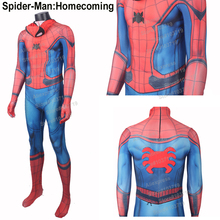 Hero Catcher High Quality Spider-Man Homecoming Costume 3D Spider New Spiderman Costume Adult Suit Marvel Spiderman Costume