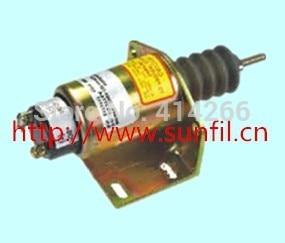 Fuel Shutdown Solenoid 2001-12F2U1B2A,  SA-2774-A  ENGINE12V 3924450 2001es 12 fuel shutdown solenoid valve for cummins hitachi