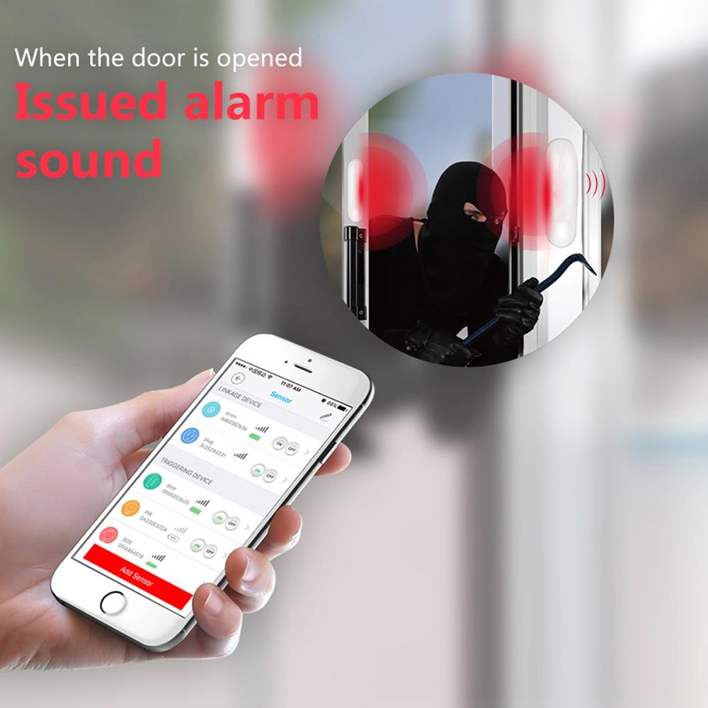 NEO COOLCAM NAS-DS01Z Z-wave Plus Door Window Sensor Compatible with Z wave  300 500 series Magnet Lock Door Sensor Alarm
