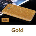 Full body glitter para samsung galaxy a5 2015 brilhante etiqueta do telefone espumante diamante adesivo