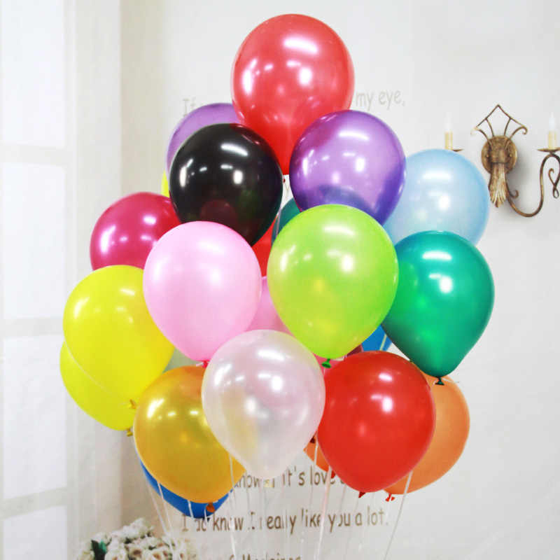 50pcs/lot Round & Oval Latex Balloons 10 Inchs Wedding Decoration Ballons Birthday Party Decora Inflatable Air Ball 9Z SH032-D-1