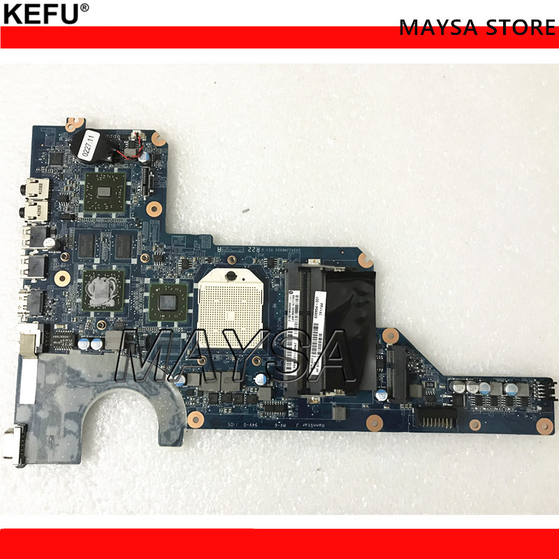 638854-001 647626-001 DA0R22MB6D1 Fit For HP Pavilion G4 G6 G7 Motherboard PC board TESTED 638856 001 da0r22mb6d1 d0 fit for hp pavilion g4 g6 g7 notebook motherboard tested working