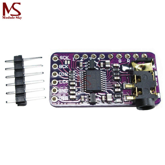 Interface I2S PCM5102 DAC Decoder GY-PCM5102 I2S Player Module For Raspberry Pi