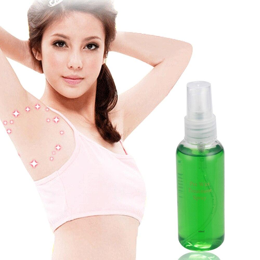 VOR Wachs Behandlung Spray Flüssigkeit Haar Entfernung Entferner Wachsen Sprayer 60 ml Neue verpackung