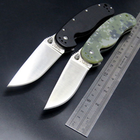 Efeng E R1 Custom Hunting Tactical Survival Folding Knife With Sand Light Surface 9CR18MOV Blade G10