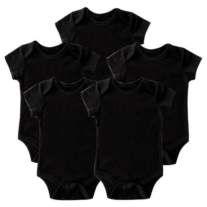 2/3/4/5 шт./компл. модные хлопковые детские комбинезоны, Одежда для новорожденных мальчиков Одежда для девочек комбинезон с длинными рукавами roupas infantis menino для детей комбинезоны для девочек