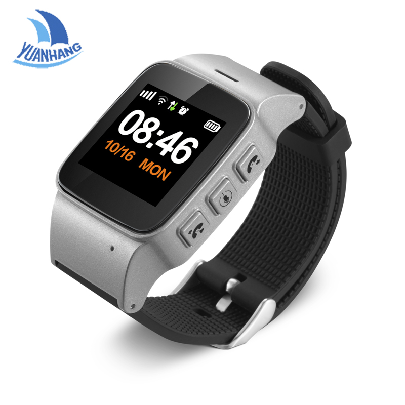 1.22 Color Screen Smart GPS LBS Tracker Location Elder Kids Children SOS Call Anti-Lost Remote Monitor Wristwatch Watch PK T58 yuanhang smart universal gps lbs tracker locator sos call watch for elder parents heart rate monitor alarm anti lost wristwatch