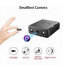 Full HD 1080 P Мини камера Инфракрасный ночное видение камера видеонаблюдения обнаружения движения Мини DVR небольшой Micro Cam поддержка Скрытая TF карты