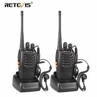 2 pcs Retevis H777 Walkie Talkie UHF 400 470MHz Ham Radio Hf Transceiver Two Way Radio Communicator USB Charging Talkie Walkie