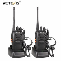 2 pcs Retevis H777 Walkie Talkie UHF 400 470MHz Ham Radio Hf Transceiver Two Way cb Radio Comunicador USB Charging Talkie Walkie