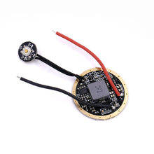 Dia.32mm 3.7v-4.2v 6 mode LED tableau de bord avec interrupteur latéral pour CREE XHP70 XHP70.2 6V LED lampe de poche à monter soi-même