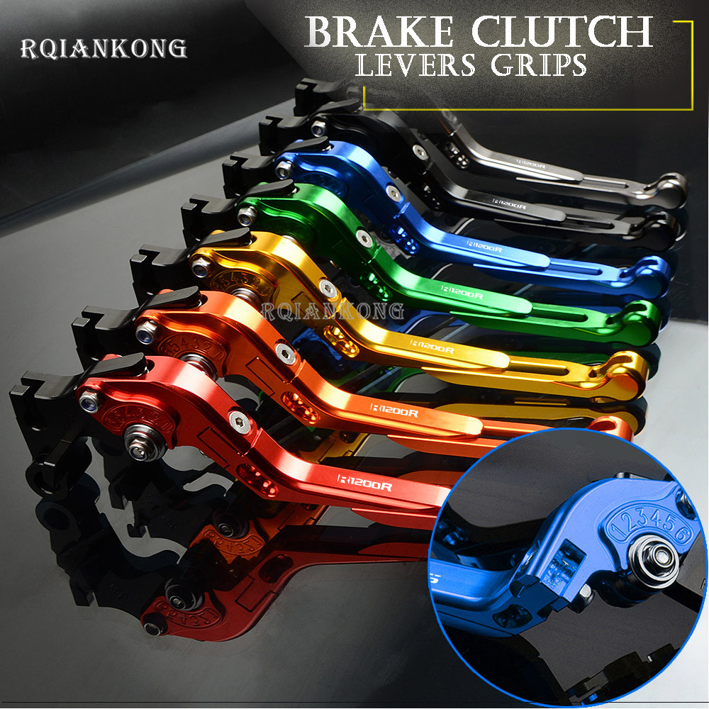 CNC Motorcycle Accessories Brake Clutch Levers For BMW R1200R 2006 2014 R1200 R 1200 R Motor