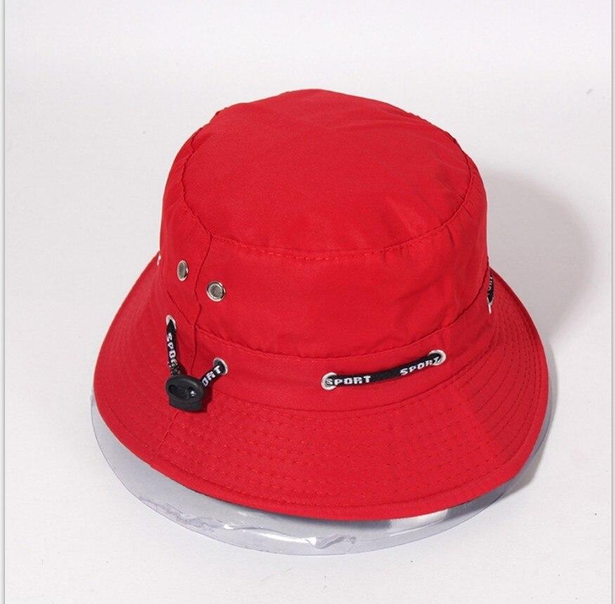 New Rope Sunscreen Bucket Hat Cotton Solid Fisherman Bush Panama Cap Men Gorra Women Beach Chapeu Pescador Sun Hats Men's Hats