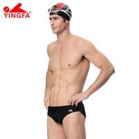 YINGFA FINA Swimsuit shorts Men/chłopiec Stroje Kąpielowe Racing Konkurs Druku kąpielówki profesjonalne Szybkie Pranie rekina Pływać Garnitur