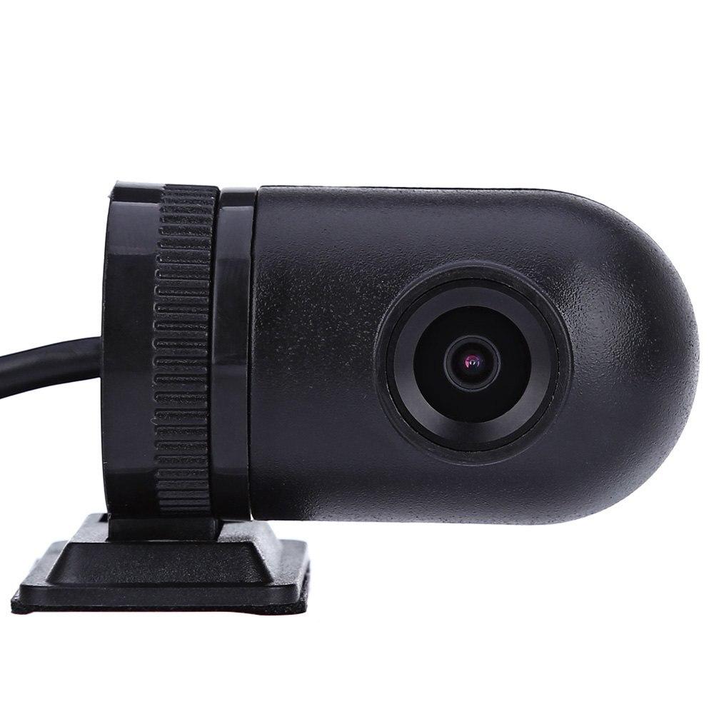 imágenes para Q9 Trasera de 140 Grados Ángulo de Visión Mini Puerto USB Frontal en el coche de la Cámara para Android Sistema Registrador Del DVR Del Coche Que Invierte el Estacionamiento Monitor
