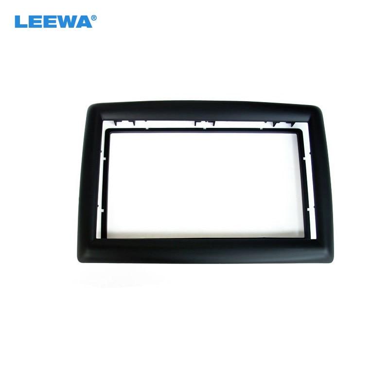 LEEWA Автомобильная установка DVD рамка панель DVD Даш Комплект радио Панель рамка аудиокадр для 09 RENAULT MEGANE 2DIN#5212