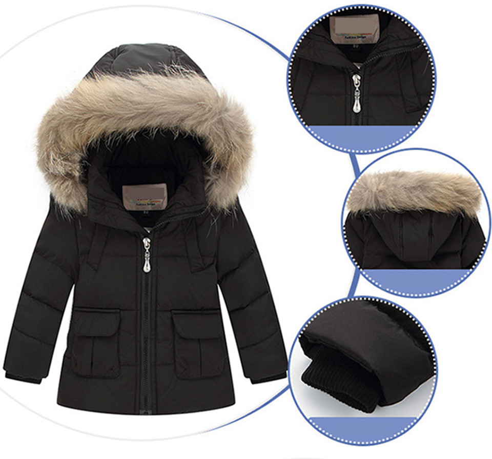 f7822f6b57b4 Winter Suits for Girls Boys Children Clothing Sets Baby Snow Jackets ...