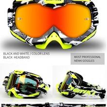 2017 Newest Motocross Goggles Motorcycle Helmet Shield Visor Moto Casco Gafas  Nenki 1016(China) 0ad543a624