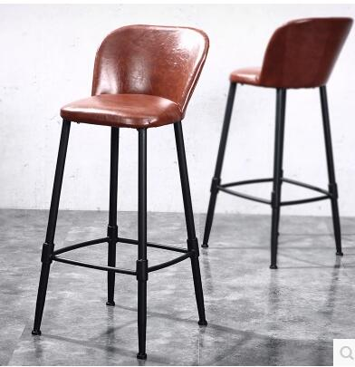 Bar chair. Vintage bar stools. Back seat. Lounge chair. Cafe chair. Iron chair dining chair the lounge chair creative cafe chair
