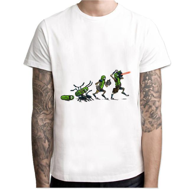 Rick and Morty New Anime Comic T-shirt  3