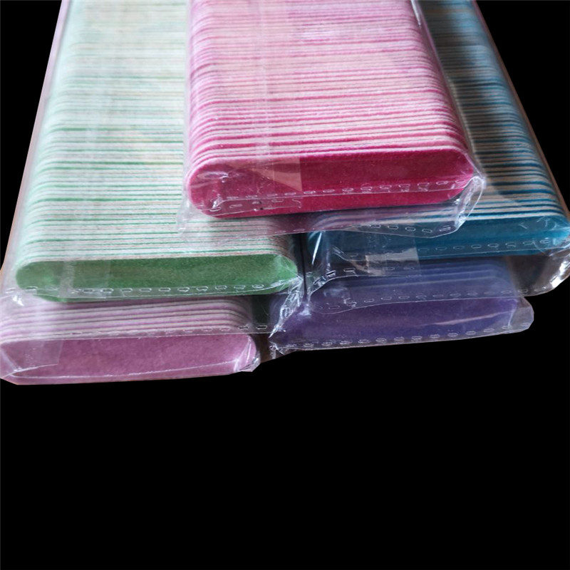 100pcs Hot Disposable Wooden Nail File Manicure Beauty Files Sandpaper Polishing Buffering Mini Nailfile Nail 100/240
