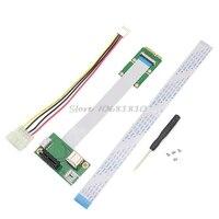 מיני PCI-E כדי PCI-E אקספרס 1X הארכת כבל מתאם כרטיס עם USB Riser כרטיס זרוק חינם