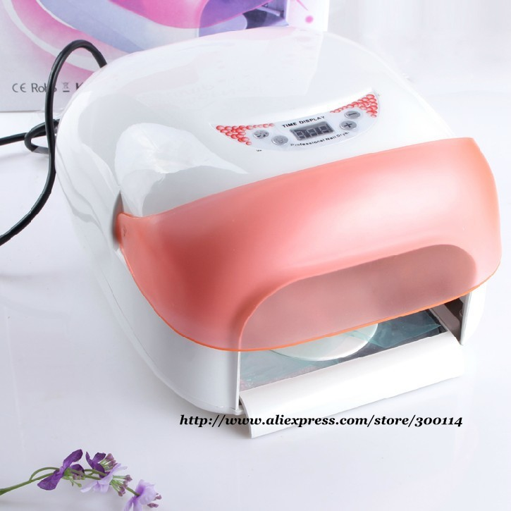 Whole Professional Auto Sensor Nail Art Uv Lamp 36w Light Gel Curring Fan Dryer With Bulbs 8sets Lot Free Shipping In Dryers From Beauty