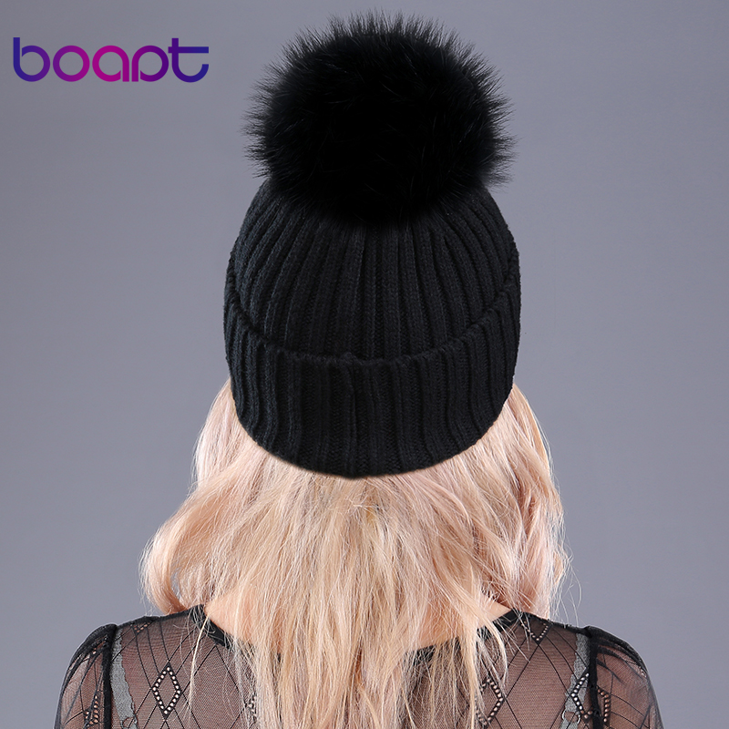 Warm Natural Raccoon Fur Hat 3