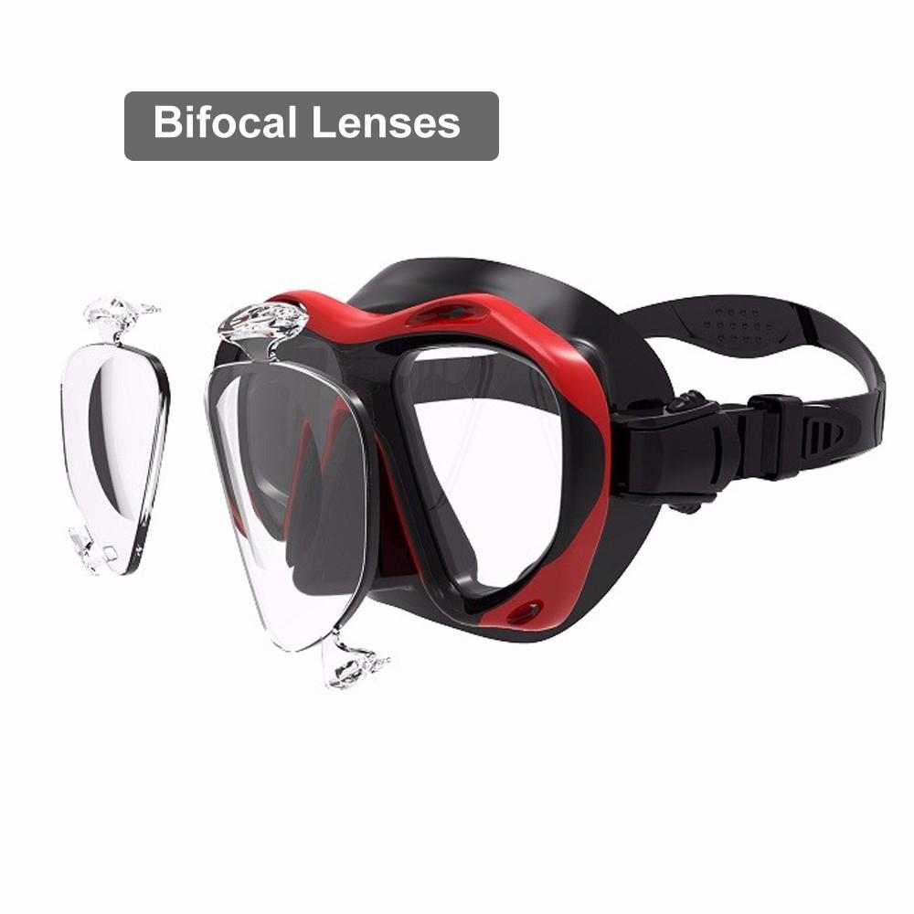 b86ec2ff1a3 Optical Diving Mask Hyperopia Myopia Snorkel Goggles