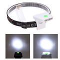 5 LED Clip-On Caplight White Light Lamp Cycling Hiking Camping Cap Light Night Fishing Headlamps Repair Car Outdoor Caplights