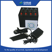 Cheapest wavecom 4 port gsm gprs modem pool, dual band Q2406B 4 port modem pool for SMS, STK, USSD