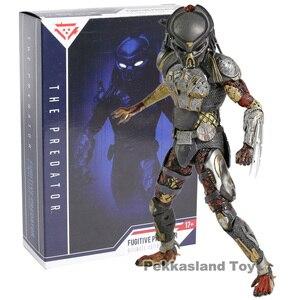 Image 5 - NECA The Predator 2018 Movie Fugitive Predator PVC Action Figure Collectible Model Toy