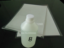 500ml Hydrographic Activator B + 10pc A4 size blank Hydrographic Film For Water Transfer Printing Film suits for inkjet printer