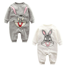2017 Baby Romper Long Sleeve 0-12M Baby Clothing Overalls for Newborn Baby Clothes Boy Girl Rompers Ropa de Bebe Infant Jumpsuit