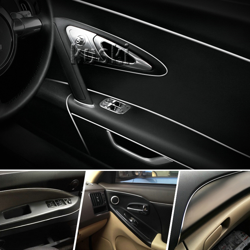 3M Car Center Console Internal Trim Sticker For Chevrolet Cruze Aveo Captiva Lacetti TRAX Sail Epica Citroen C4 C5 2 Accessories