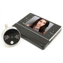 3.5″ Ultra Bright TFT LCD Display Digital Door Peephole Peep Hole Doorbell IR LED Night Vision Support 8 languages