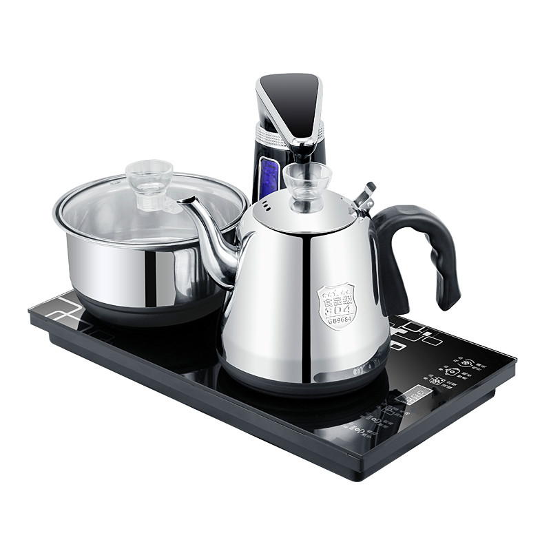 Electric kettle Fully automatic upper water electric used make tea with  pump Overheat ProtectionElectric kettle Fully automatic upper water electric used make tea with  pump Overheat Protection